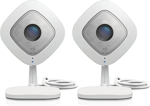 Arlo Q 1080p Hd Security Camera With Audio 2 Pack