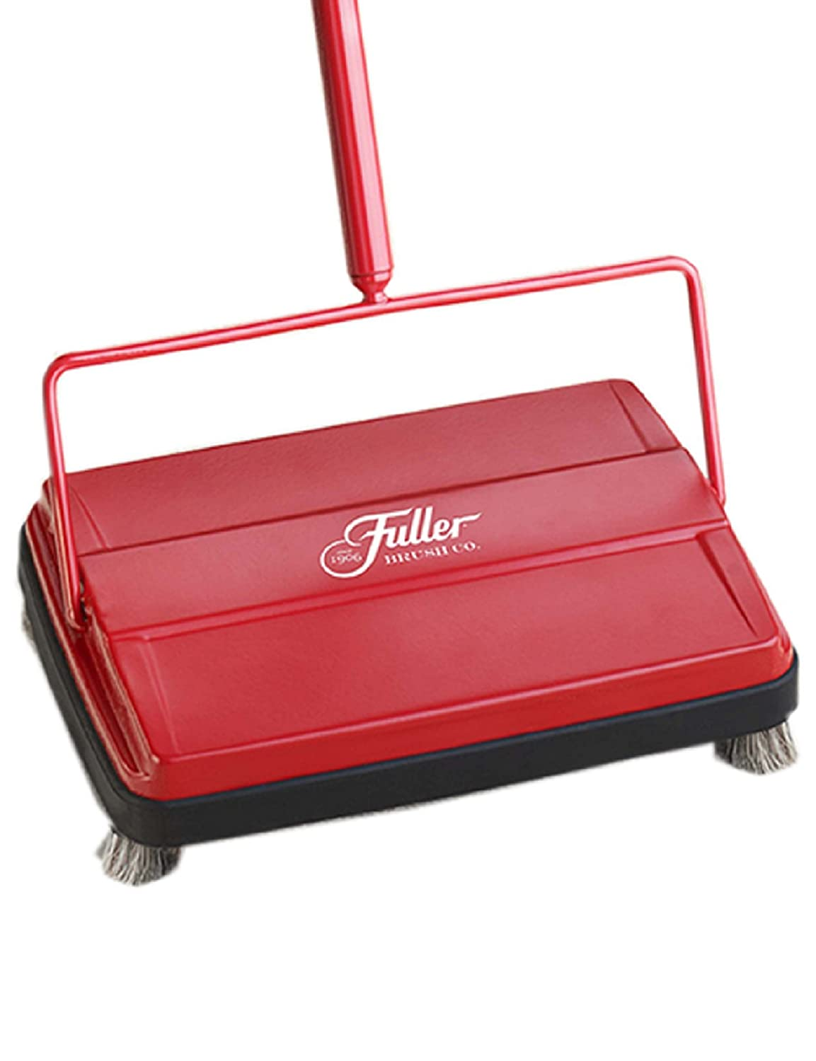 "Fuller Brush Electrostatic Carpet & Floor Sweeper - 9"" Cleaning Path - Red"