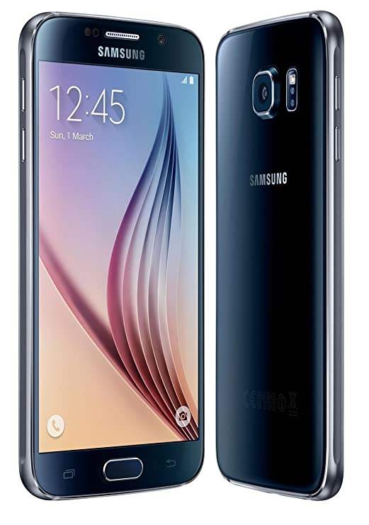 Samsung Galaxy S6 G920 32GB GSM Unlocked International Smartphone, Black  Sapphire