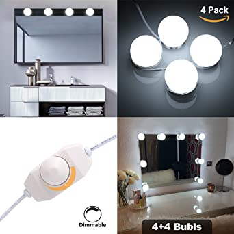Hollywood style makeup mirror led light kit sg super star style hollywood style makeup mirror led light kit sg super star style led vanity makeup mirror light aloadofball