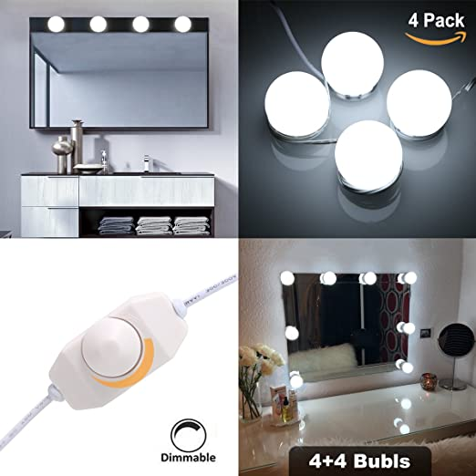 Hollywood style makeup mirror led light kit sg super star style led hollywood style makeup mirror led light kit sg super star style led vanity makeup mirror light aloadofball Image collections