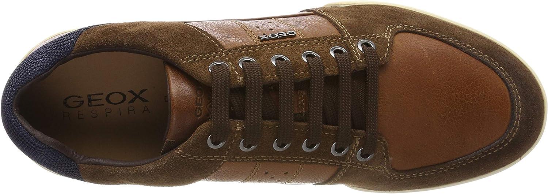 Geox Mens Kristof Leather City Sneaker Sneaker