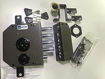Mottura SER.4M.C/S.C/C.DX 60 S/ASTE - Cerradura Triple, orientación derecha: Amazon.es: Bricolaje y herramientas