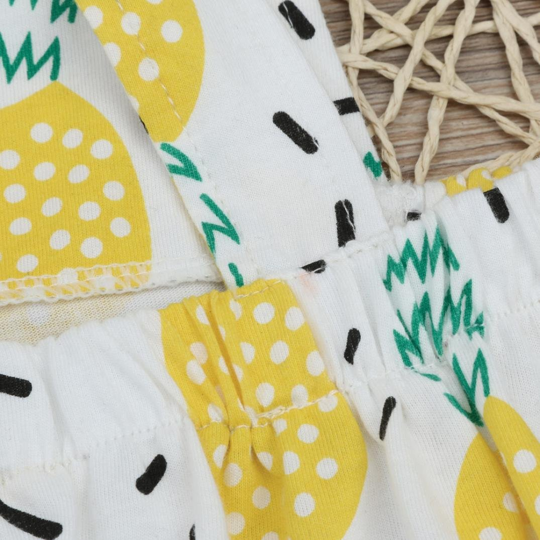 Vovotrade Infant Fruit Print Backless Sleeveless Romper Jumpsuit