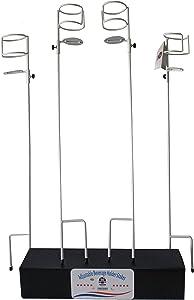 Cafn8d Designs Adjustable Beverage/Drink Holder Stakes (White)