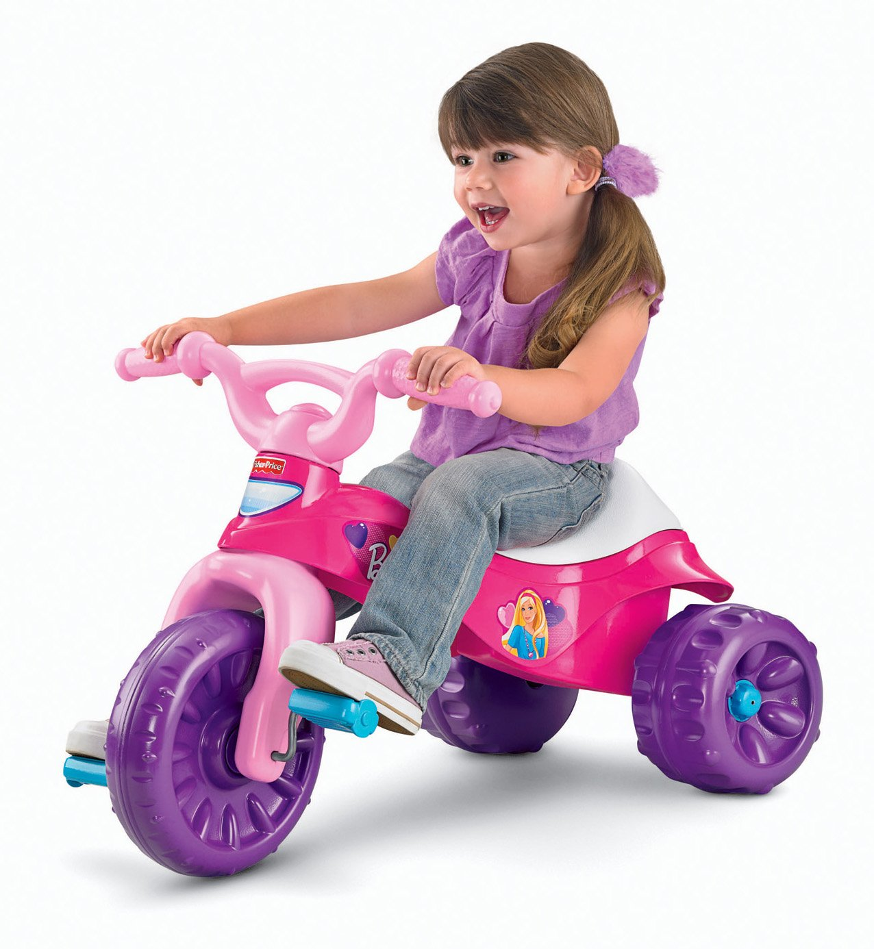 $29.99 (was $39.99) Fisher-Price Barbie Tough Trike