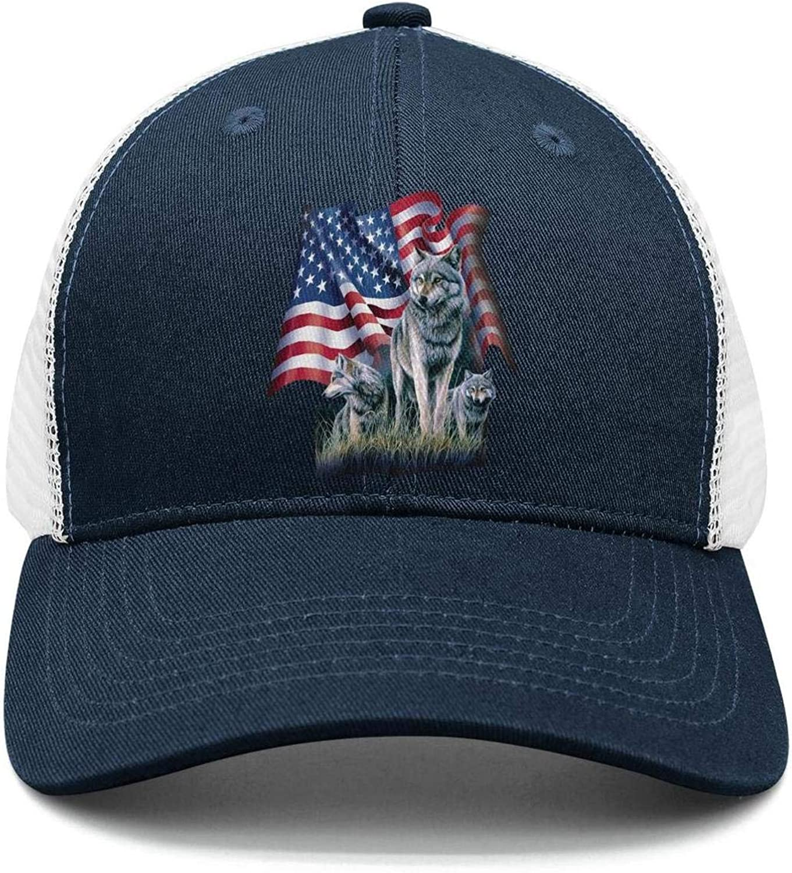 American Flag Pitbull Love My Pitbull Sports Hat Men//Women Vintage Sports Cap