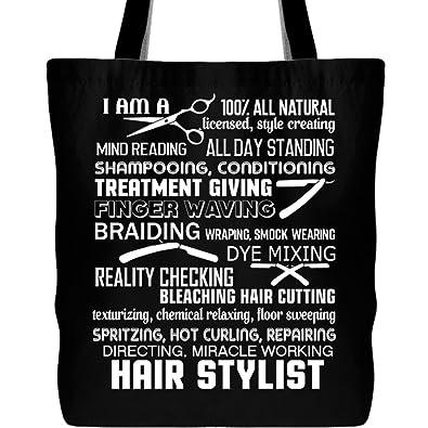 Amazon.com: I Am A pelo estilista bolsas, Miracle de trabajo ...
