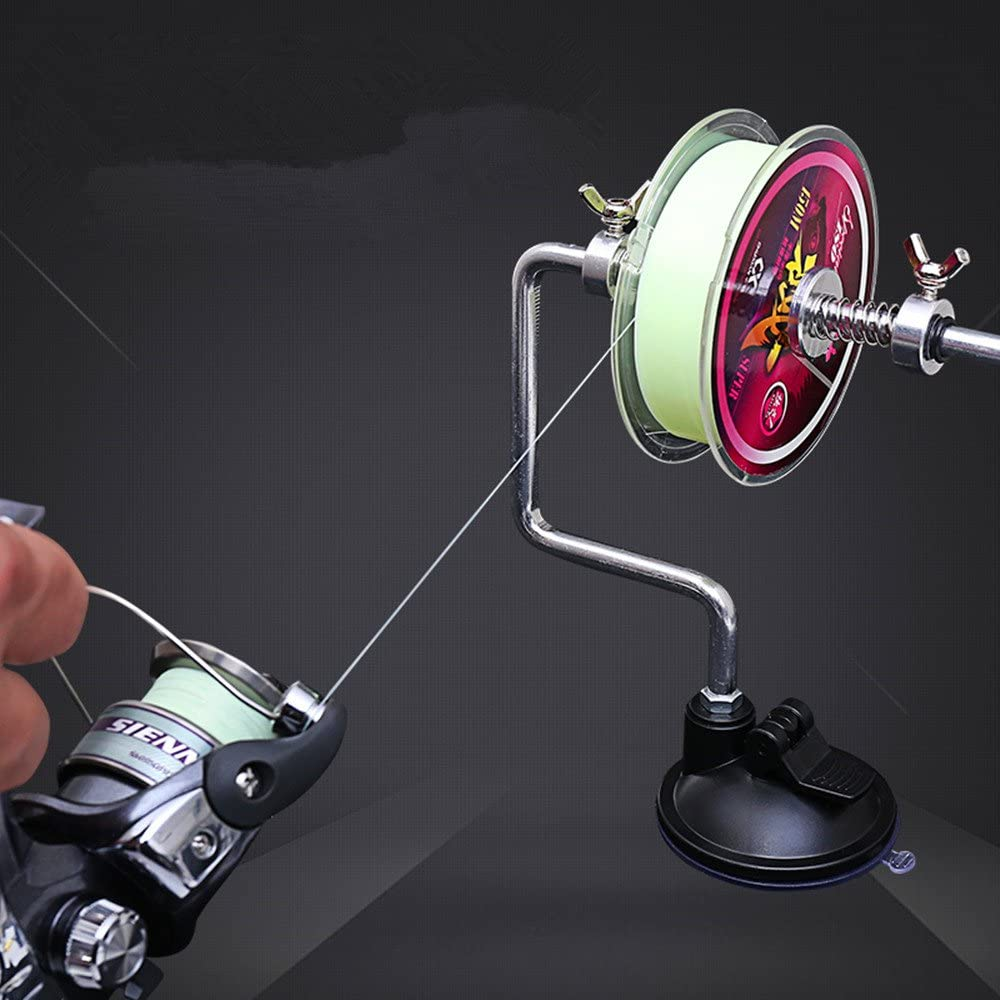 Fishing Line Winder Reel Line Spooler Spooling Winding System Tackle