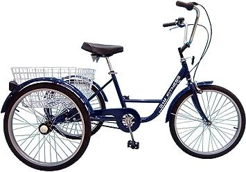 B+M Fitness - Triciclo para adultos (24