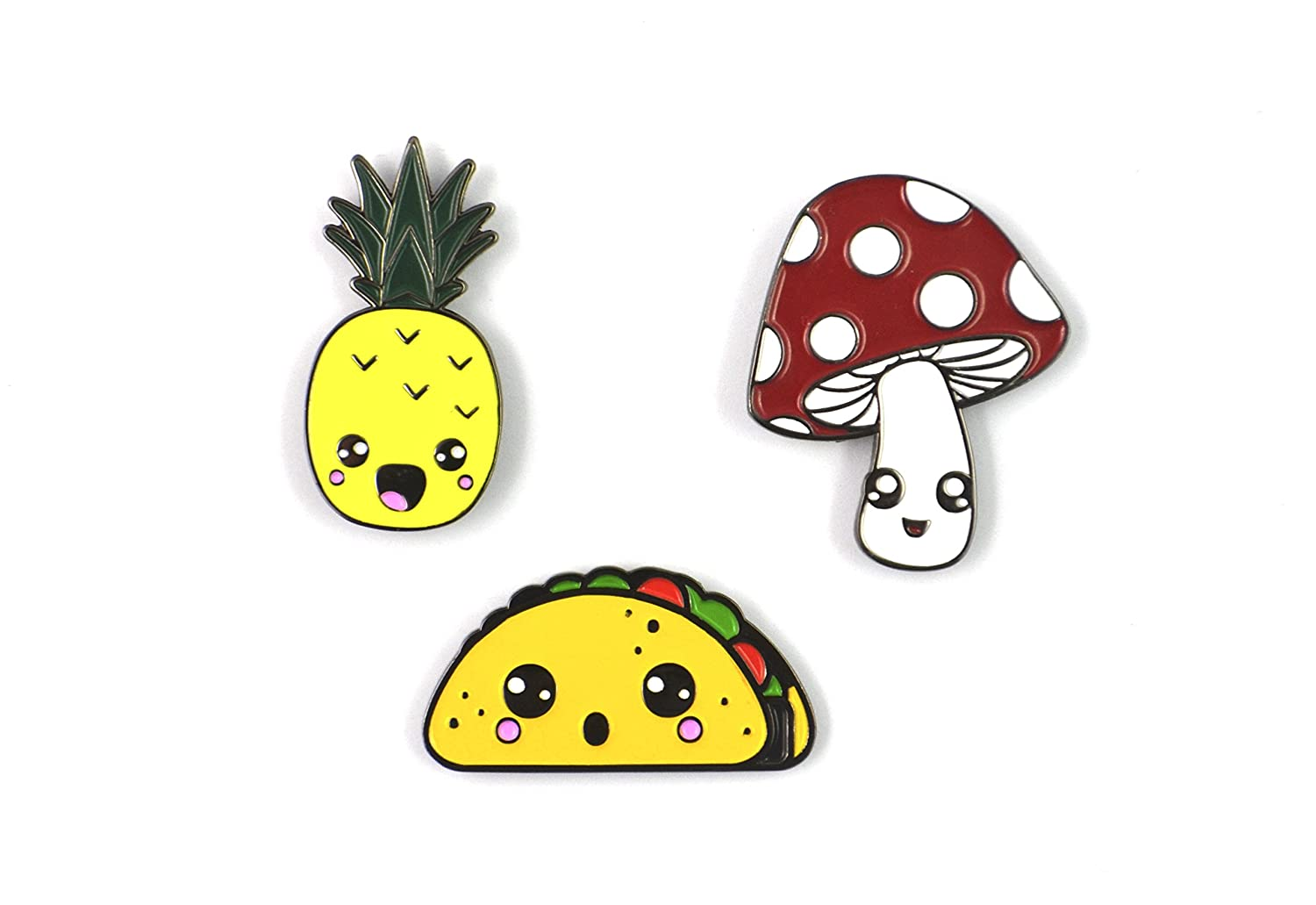 The Kawaii Pin Set Sloth Steady KawaiiSet