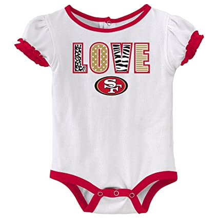 Amazon.com   NFL San Francisco 49ers Infant Skirt Set - 12 Months   Sports    Outdoors d9d5d0edb