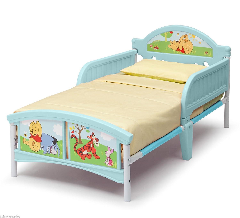 Meubles pour Enfants Disney Winnie lourson Lit /à partir de 18 m Lit pour Enfant Puuh Ours 140 x 70 cm