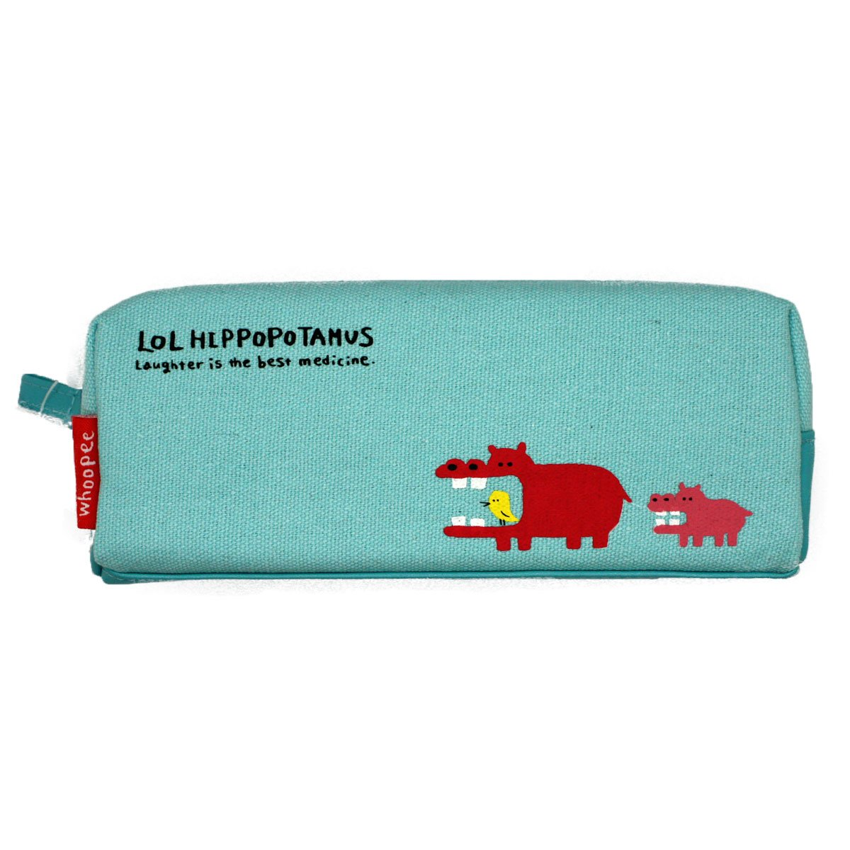 "''Kawaii Pencil case/Pouch'' Popular for Japanese School Girls That Produced by Famous Company in Japan.Character's Name is''LOL HIPOPOTAMUS""."