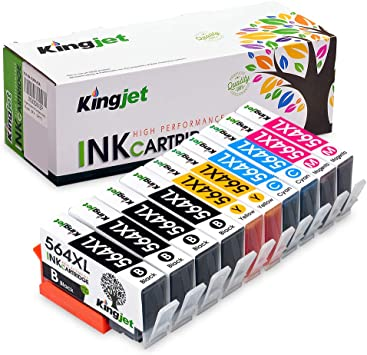 Non-OEM Refillable Ink Cartridge for HP 564//564XL Photosmart D5445 7520 6525