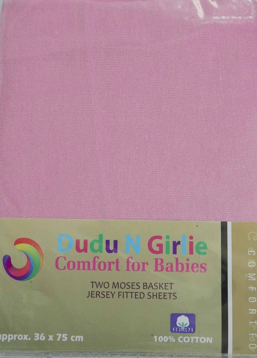 DK Glovesheet S/ábana ajustable el/ástica en 100/% algod/ón para colch/ónes de Cunas Bedside Color: Crema