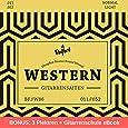 Gitarrensaiten für Westerngitarre ★ Erstklassige Stahl Phosphor Bronze Saiten für Western-Gitarre & Akustik-Gitarre (6-Saiten Set)   BONUS: Gratis Ebook + 3 Plektren