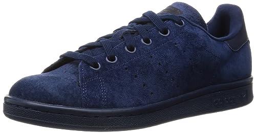 the latest b0b02 e17d6 adidas Originals STAN SMITH Scarpe Sneakers Pelle Scanosciata Grigio per  Unisex  Amazon.it  Scarpe e borse