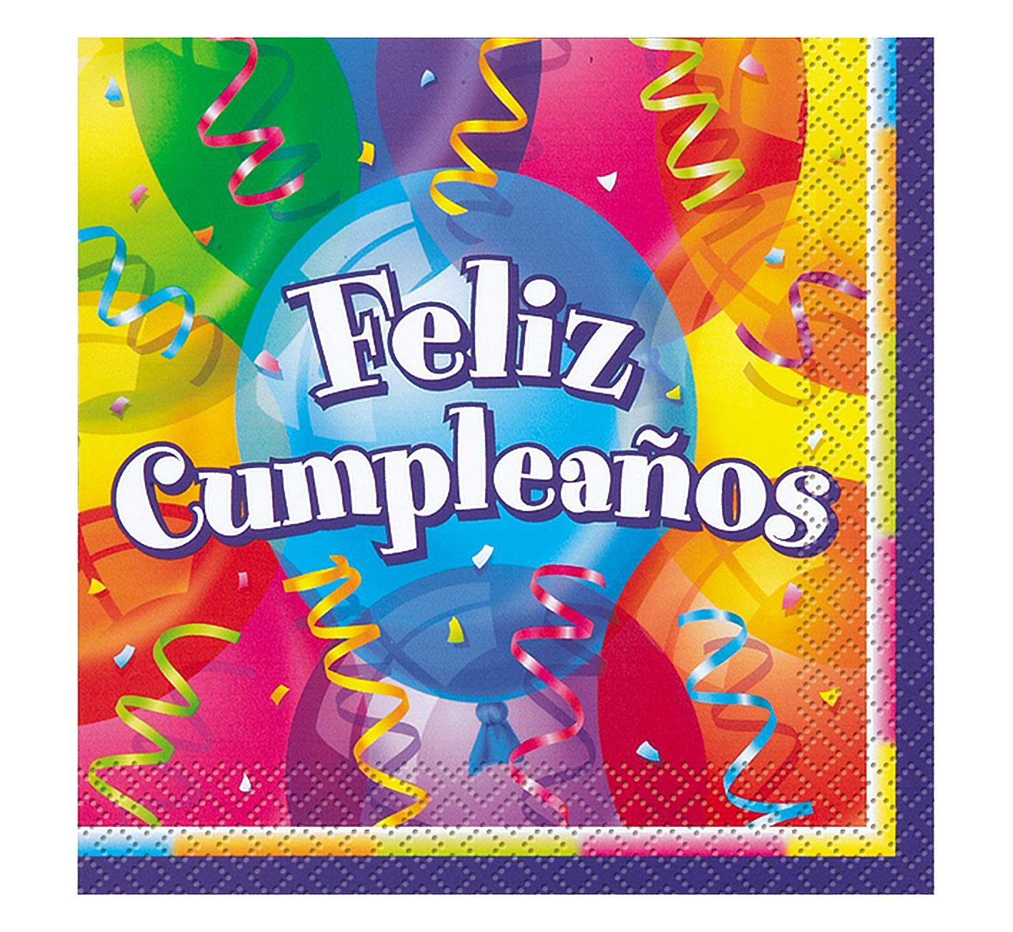 Amazon.com: Feliz Cumpleanos Goodie Bags, 8ct: Kitchen & Dining