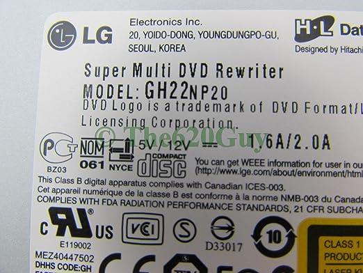 LG GH22NP20 ODD TREIBER WINDOWS 8