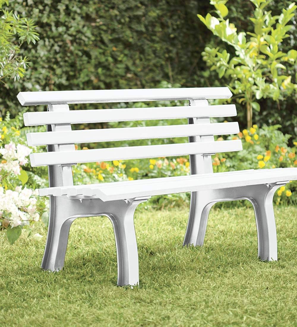 Terrific German Made Weatherproof Resin Garden Bench In Green Camellatalisay Diy Chair Ideas Camellatalisaycom