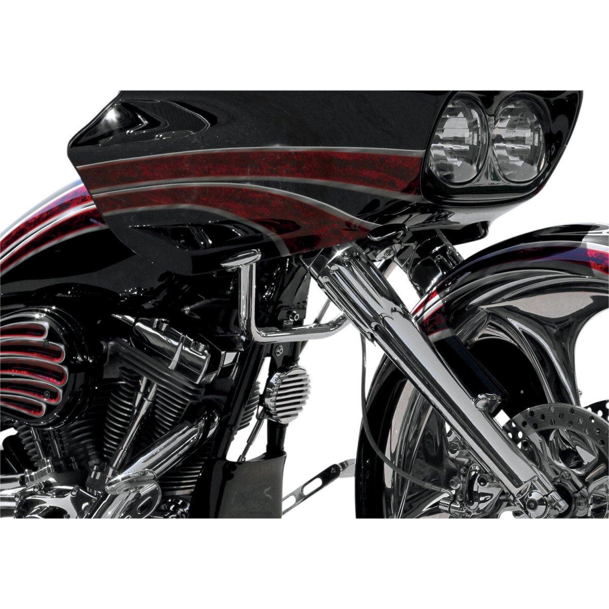 Paul Yaffe Originals MBB-125-12 B 12 Black Monkey Bar for Harley 86-13 FLHT FLHX