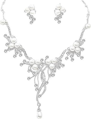Glamour Lange Ohrringe Stecker Silber Kristall Klar Transparent 15,5 cm Lang