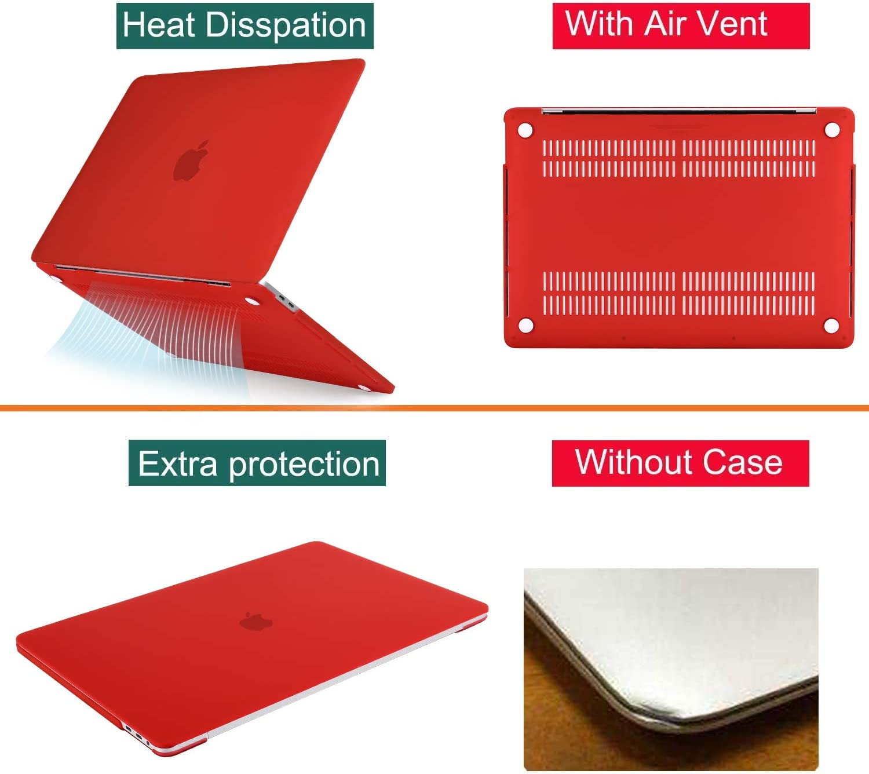 Compatibile con MacBook PRO 16 Inglese EU Layout Blu Bavy Custodia Rigida e Copertura della Tastiera MOSISO Custodia MacBook PRO 16 Pollici Case 2019 A2141 con Touch Bar e Touch ID