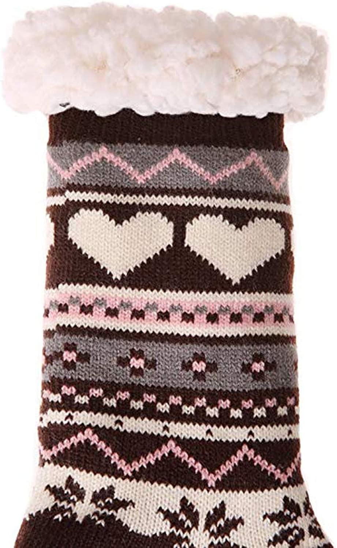 Wanyid 2019 New Women Wool Winter Chrismas Super Soft Warm Cozy Fuzzy Fleece Lined Geometric Heart Pattern Pink China One Size