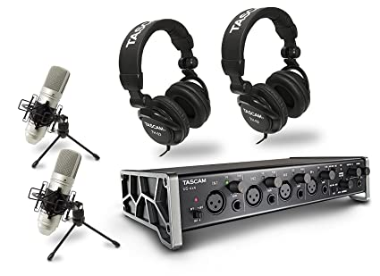 Tascam Trackpack 4x4 - Kit Home Studio Professionale con Interfaccia Audio Midi  4x4 4fb8999ff3e6