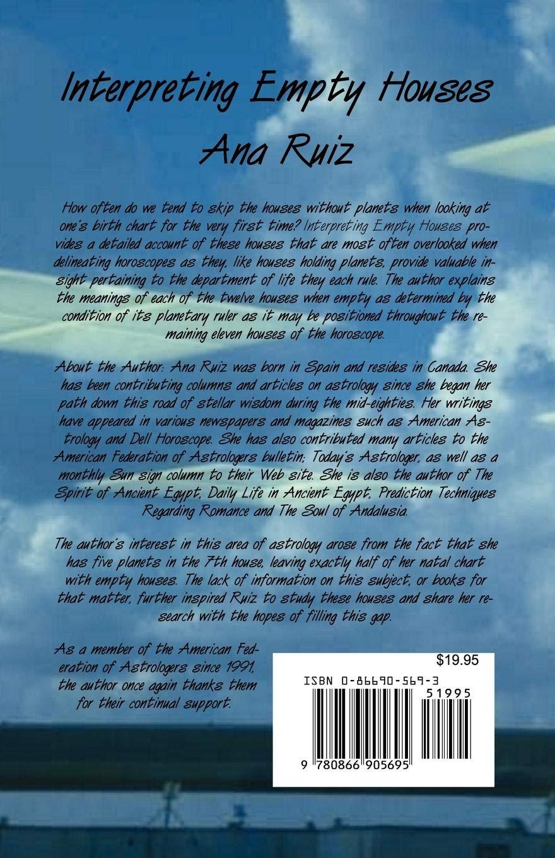 Interpreting Empty Houses: Amazon in: Ruiz: Books