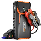 TACKLIFE T8 800A Peak 18000mAh Lithium Car Jump Starter for Up to 7.0L Gas or 5.5L Diesel Engine, 12V Auto Battery…