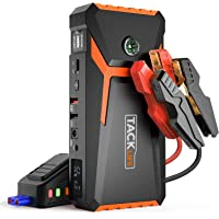 $59 » TACKLIFE T8 800A Peak 18000mAh Car Jump Starter (up to 7.0L Gas, 5.5L Diesel engine) with…