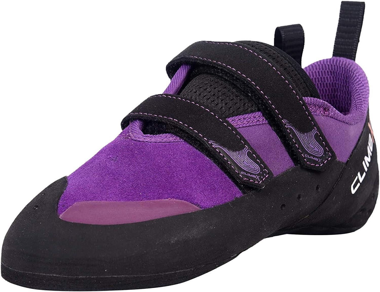Climb X Purple Rave Strap Climbing Shoe 2020