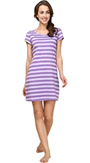 SWISSWELL Women s Nightshirt Nightdress Ladies Pajamas V-Neck Short ... 0a85e5e05