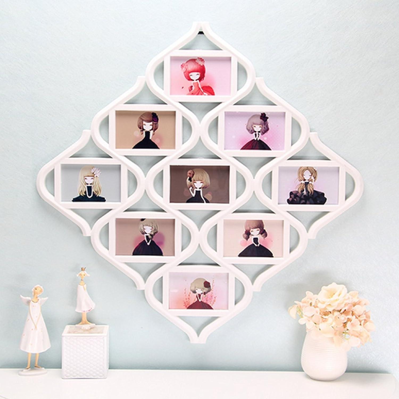 Beho 中国の結び目9イメージ家族フォトフレームコラージュ画像壁壁掛け装飾結婚式の贈り物 B07CSW5H8B