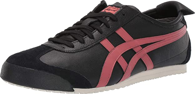 onitsuka tiger mexico 66 black burnt red jeans