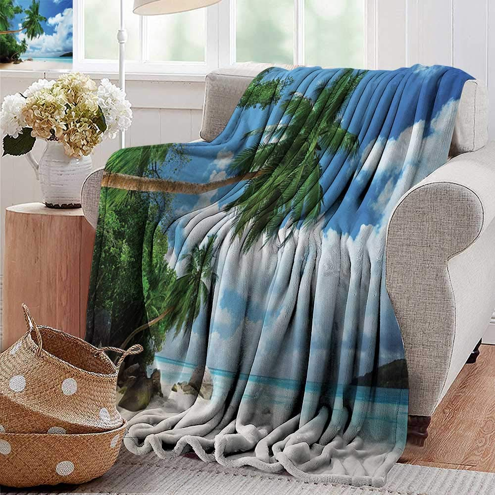 color06 30 x40 (W76cmxL100cm)Cool Blanket,Nursery,Toys and Animals in a Checkered Background Teddy Bears Sheep Cats Duck Toys,Tan Multicolor,for Bed & Couch Sofa Easy Care 50 x70