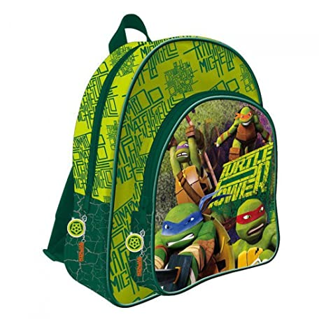 75dd8e1488 Zaino Cartella Tartarughe Ninja Turtles 40 CM: Amazon.it: Giochi e ...