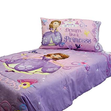 Disney Jr Princess Sofia The First 4 Piece Toddler Bedding Set