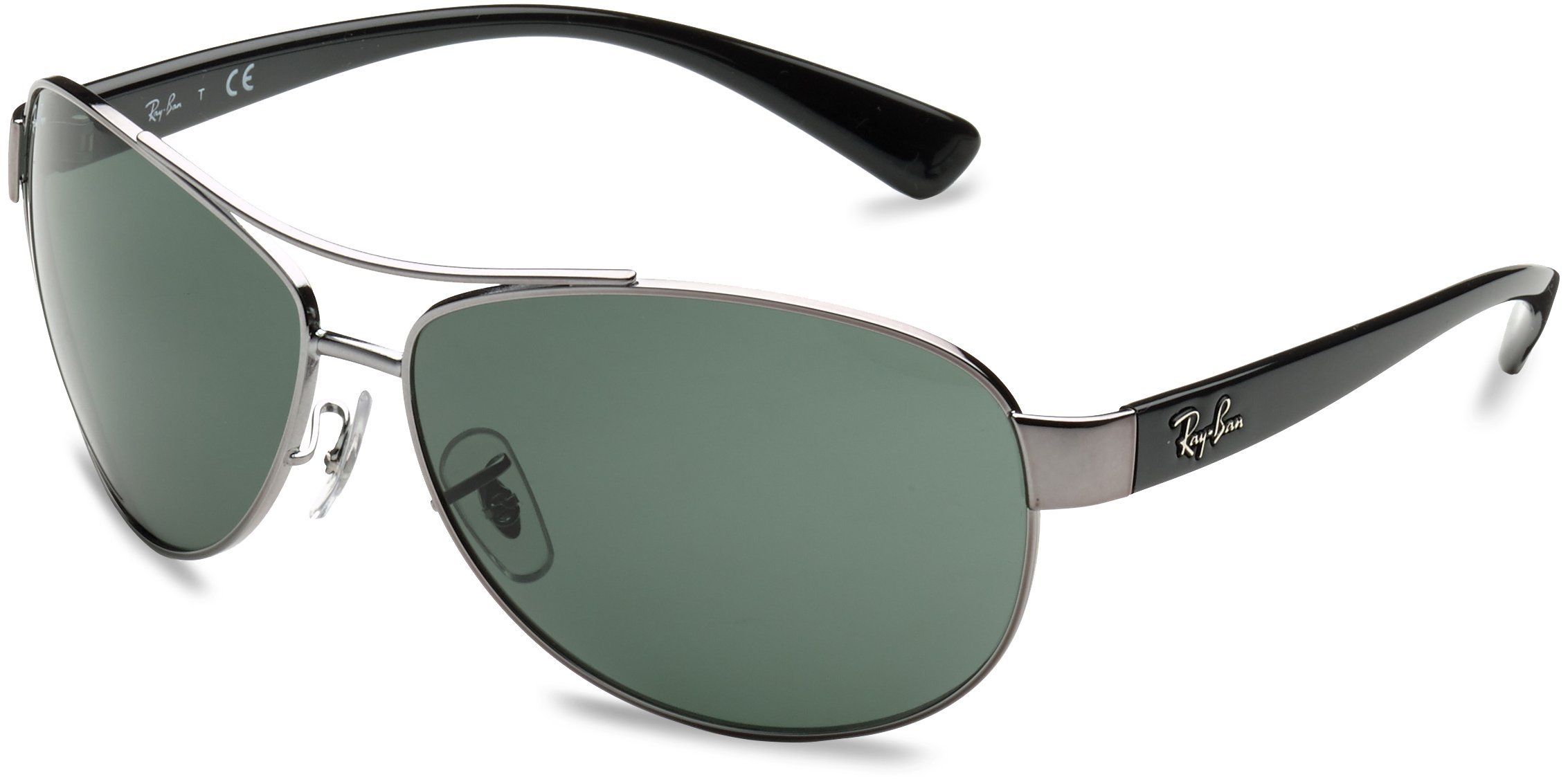 Ray-Ban RB3386 004/71 Gunmetal Sunglasses