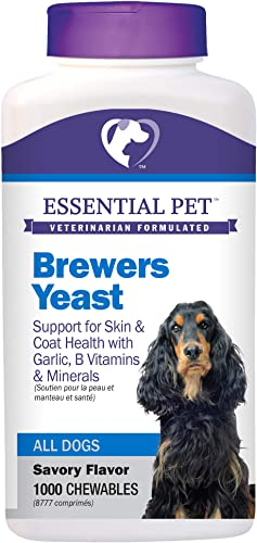 Essential Pet Products Brewers Yeast Chewable Tablet