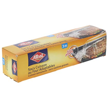 Albal - Aroma, bolsas para horno adaptables, pack de 2: Amazon.es ...