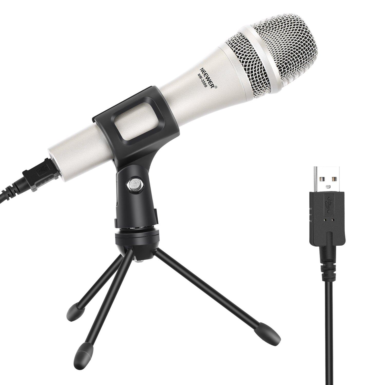 Neewer Nw-3500 Micrófono dinámico vocal de mano con cable