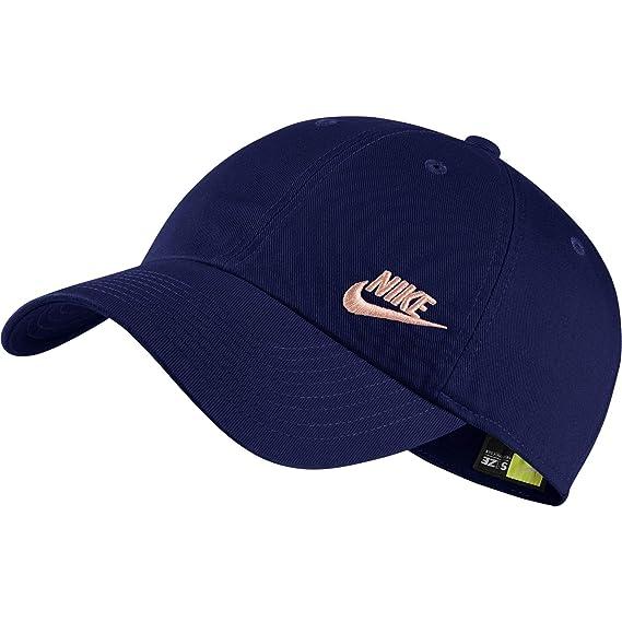 Nike W NSW H86 Cap Futura Classic Gorra, Mujer, Blue Void/Storm ...