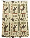Bacova Guild Big Country Shower Accessories, Shower Curtain