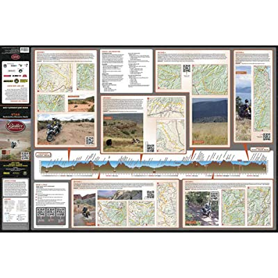 Butler Maps Backcountry Discovery Route Maps (Utah): Butler Motorcycle Maps: Automotive