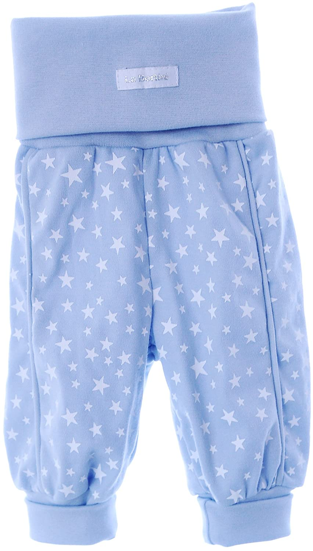 Babyhose Kinder Hose Mitwachshose Schlupfhose Baby 50-104 Hosen Pumphose blau
