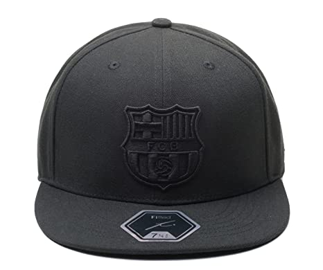 9dc99c4252 Fi Collection FC Barcelona Officially Licensed Blackout True Fitted Cap (7  5 8)