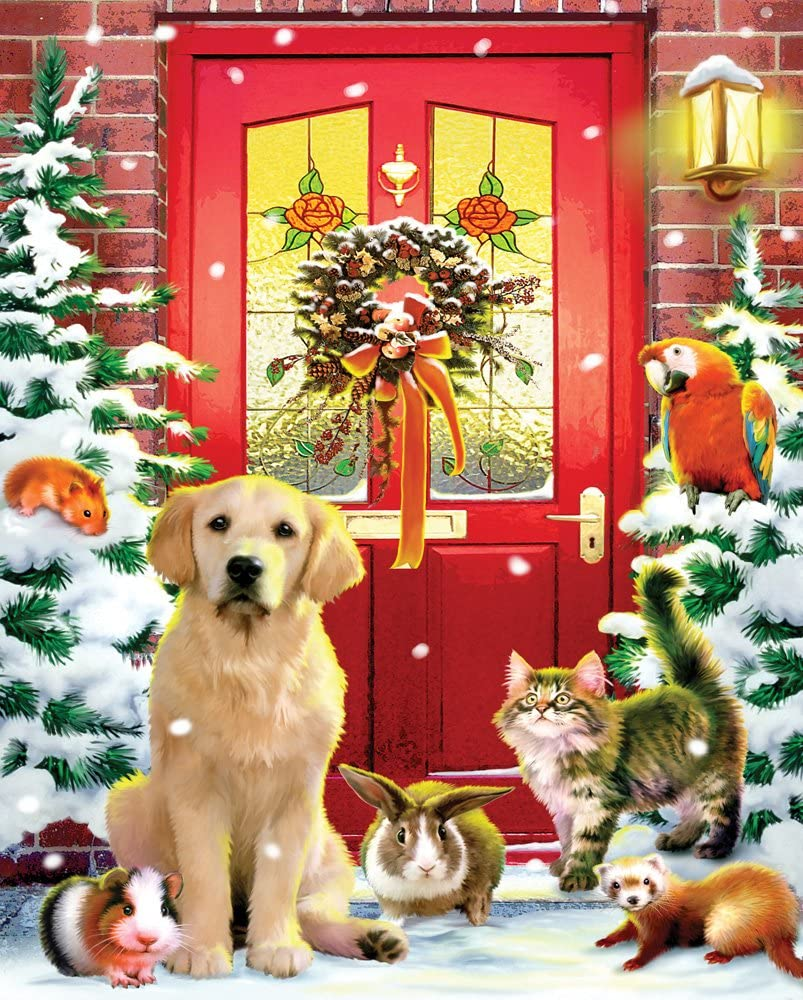 Christmas Welcome Jigsaw Puzzle 1000 Piece